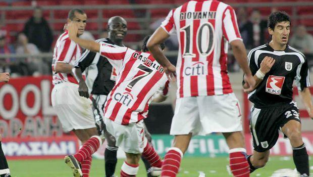 Ο Καστίγιο... μοιράζει το εκπληκτικό γκολ στο Ολυμπιακός - ΠΑΟΚ 5-1