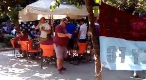 Οπαδοί της Μπέρνλι στο Παγκράτι (VIDEOS)