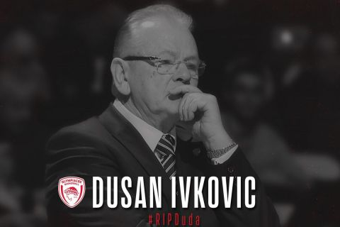 Το γραφικό της ΚΑΕ Ολυμπιακός για τον Ντούσαν Ίβκοβιτς