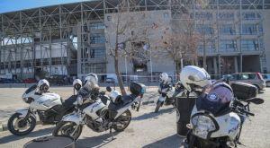ΠΑΟΚ: Μία σύλληψη και αρκετά πρόστιμα 150 ευρώ