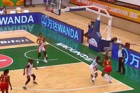AfroBasket Women: Η Μοζαμβίκη κέρδισε την Ακτή Ελεφαντοστού με απίθανο καλάθι στο 1.7''