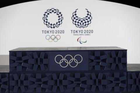 Το σήμα των Ολυμπιακών Αγώνων του Τόκιο
