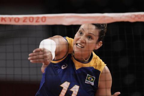 Η αθλήτρια βόλεϊ της Βραζιλίας Ταντάρα Καϊσέτα