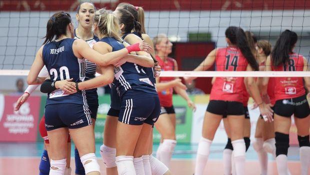 Πορφύρας - Ολυμπιακός 0-3: Ερυθρόλευκο προβάδισμα για πρόκριση