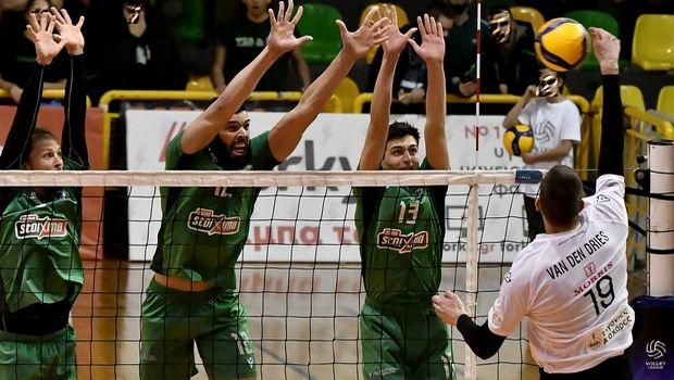Volley League ανδρών: ΠΑΟΚ και Παναθηναϊκός για το πρώτο βήμα