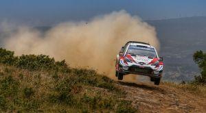 WRC: Κυρίαρχος ο Τάνακ με Toyota Yaris στη Σαρδηνία