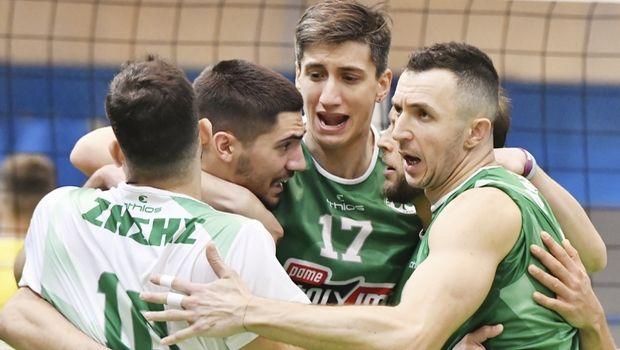 Volleyleague Ανδρών: Άλμα για την τρίτη θέση ο Παναθηναϊκός