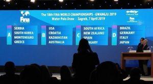 Οι Εθνικές πόλο Ανδρών-Γυναικών έμαθαν αντιπάλους στο Παγκόσμιο Πρωτάθλημα