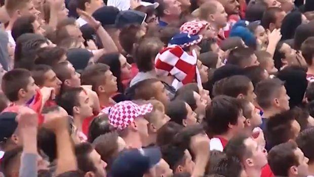 Τρεις Άγγλοι πανηγύρισαν το γκολ του Τρίπιερ ανάμεσα σε χιλιάδες Κροάτες (VIDEO)
