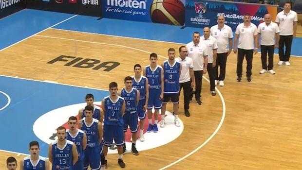 Έκτη στο EuroBasket U16 η Εθνική Παίδων