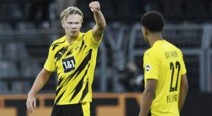 Ντόρτμουντ – Γκλάντμπαχ 3-0: Με το δεξί και δύο γκολ ο Χάαλαντ