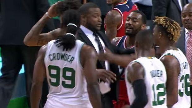 Παραλίγο ξύλο στο Celtics-Wizards!