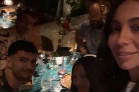 Ο Δημήτρης Σπανούλης σε δείπνο με τον Τρίσταν Βούκσεβιτς στη Βουλιαγμένη