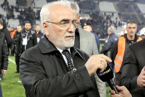 """Σαββίδης: """"Δεν θα κατέβουμε στη ρεβάνς"""""""