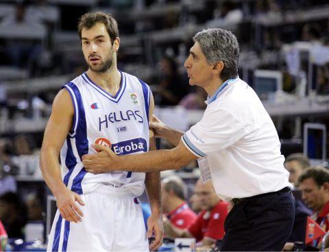 Γιαννάκης και Σπανούλης στην Εθνική Ελλάδας