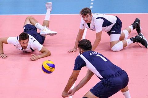 Η Εθνική βόλεϊ ανδρών σε φιλικό παιχνίδι με τη Σλοβενία