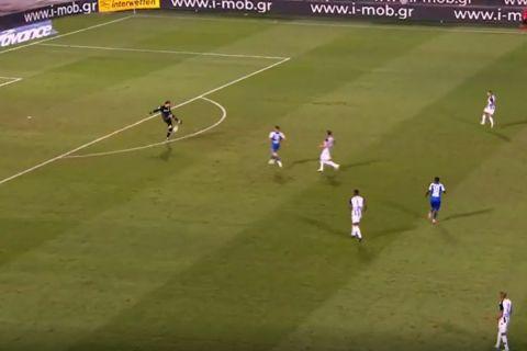 ΠΑΟΚ - ΠΑΣ Γιάννινα: Το τραγικό λάθος του Ζίβκοβιτς που έφερε το γκολ του Κόντε
