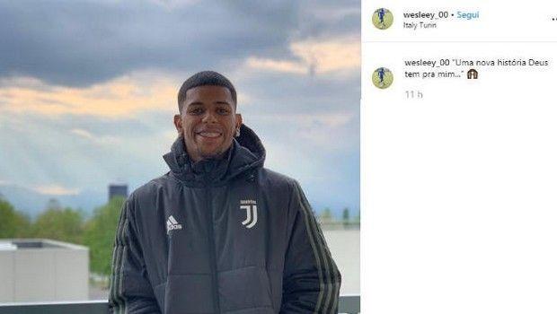 Ο 19χρονος Γουέσλι ανακοίνωσε μόνος του το deal με την Γιουβέντους