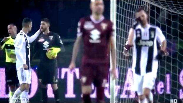 Γιουβέντους: Ο Κριστιάνο Ρονάλντο ζήτησε συγγνώμη από τον γκολκίπερ της Τορίνο (VIDEOS)