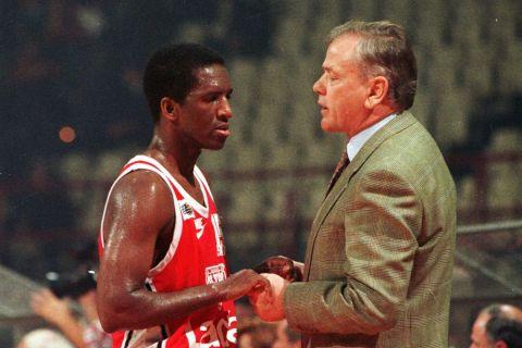 Ο Ρίβερς με τον Ίβκοβιτς