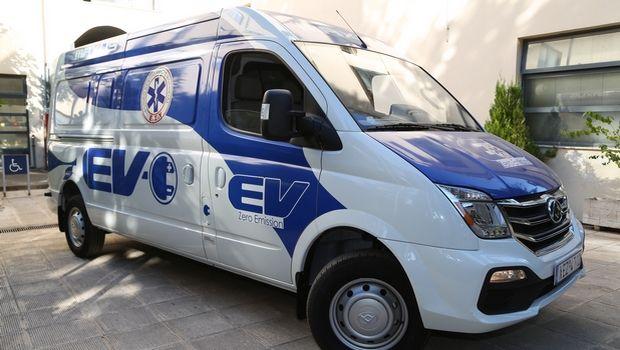Αυτό είναι το πρώτο ηλεκτροκίνητοVanMAXUS στην Ελλάδα