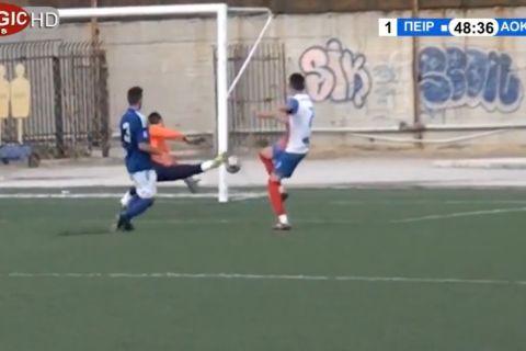 VIDEO: Μόνο στην Ελλάδα αυτά! Διαιτητής και επόπτης μέτρησαν γκολ σε σουτ που πήγε άουτ...