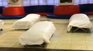 Η Κρίσταλ Πάλας μετέτρεψε τη lounge area του γηπέδου της σε κέντρο αστέγων!