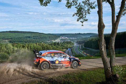Ο οδηγός της Hyundai κέρδισε την πρώτη του φετινή νίκη στο WRC