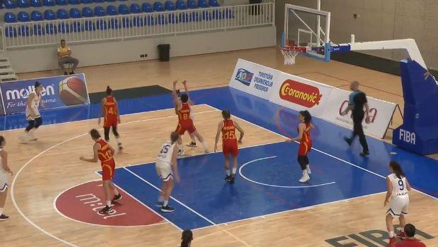 Υπερηχητική η Εθνική Κορασίδων, νίκησε με 42 πόντους την ΠΓΔΜ