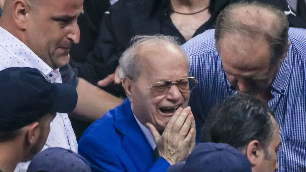Ξέσπασε σε λυγμούς ο Θανάσης Γιαννακόπουλος