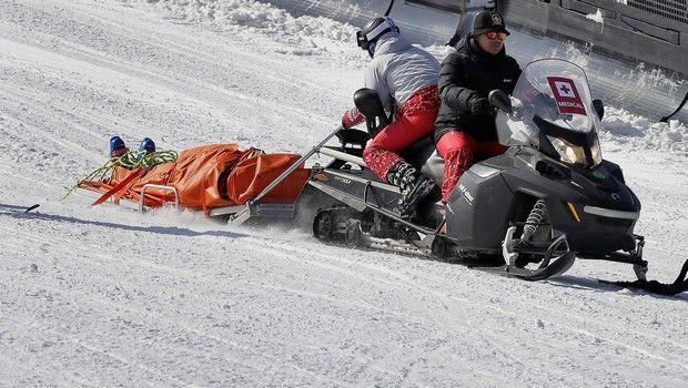 Σοβαρός τραυματισμός σκιέρ μετά από άλμα στους Χειμερινούς Ολυμπιακούς Αγώνες