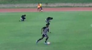 VIDEO: Αστραπή χτύπησε τέσσερις ποδοσφαιριστές στην Τζαμάικα