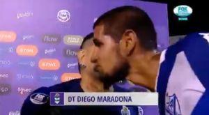 Αμυντικός της Βελέζ σταμάτησε τις δηλώσεις του Μαραντόνα για ένα φιλί!