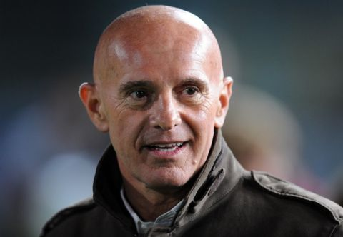 BRESCIA, ITALY - APRIL 03:  Arrigo Sacchi attends the charity football match between Milan Glorie and Brescia Glorie at the Rigamonti stadium on April 03, 2009 in Brescia, Italy. The event is in support of the charity organization Fondazione Stefano Borgonovo, the former A.C. Milan and A.C. Fiorentina striker affected by Sla (Amyotrophic lateral sclerosis)  (Photo by Luca Ghidoni/Getty Images)