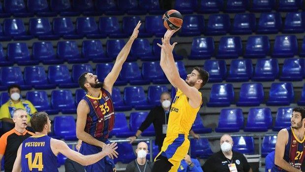 Μπαρτσελόνα - Μακάμπι 67-68: Ο Σφαιρόπουλος άλωσε τη Βαρκελώνη