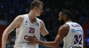 VTB League: Εύκολη νίκη της ΤΣΣΚΑ επί της Ζενίτ