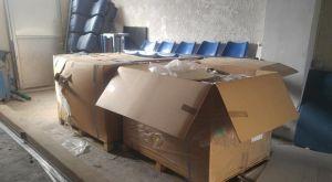 Το ΣΕΔ έστειλε 400 καθίσματα στο Εθνικό Αθλητικό Κέντρο Ηρακλείου