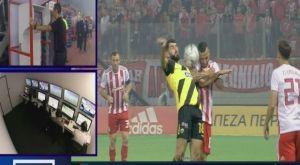 Ολυμπιακός – ΑΕΚ: Το μπράτσο του Γκιλιέρμε που είδε το VAR και ακύρωσε το γκολ