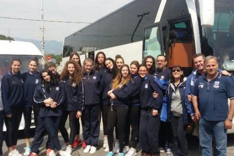 Φεύγει για Σερβία η Εθνική Νεανίδων