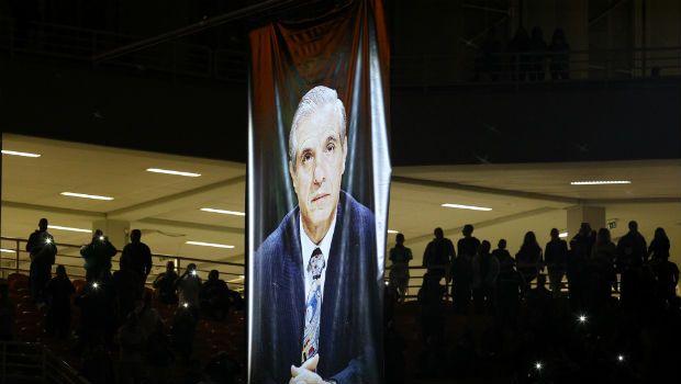 Ανατριχίλα: ο Παύλος Γιαννακόπουλος στον ουρανό του ΟΑΚΑ