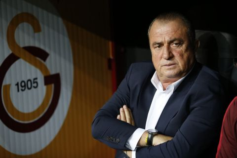 Ο προπονητής της Γαλατάσαραϊ Φατίχ Τερίμ από το ματς του Champions League με την Παρί   1 Οκτωβρίου 2019