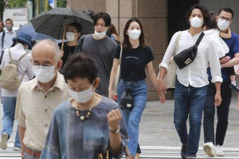 Πολίτες στο Τόκιο την περίοδο των Ολυμπιακών Αγώνων