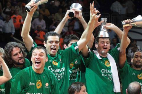 ÅÕÑÙËÉÃÊÁ / ÖÁÉÍÁË ÖÏÑ / ÂÅÑÏËÉÍÏ 2009 / ÔÅËÉÊÏÓ / ÐÁÏ-ÔÓÓÊÁ / EUROLEAGUE / FINAL FOUR / BERLIN 2009 / FINAL / PANATHINAIKOS-CSKA