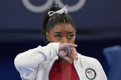 Η Σιμόν Μπάιλς στους Ολυμπιακούς Αγώνες του Τόκιο