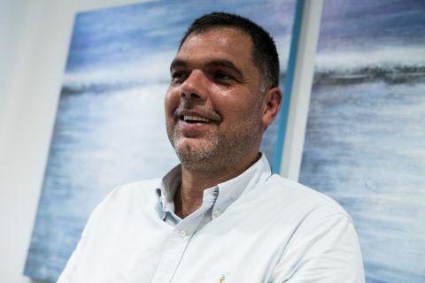 Ο Δημήτρης Παπανικολάου στη συνέντευξη που παραχώρησε στο SPORT24