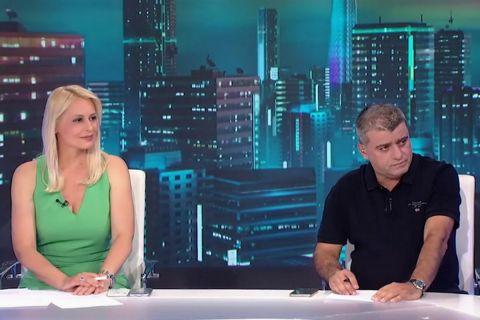 Η Κατερίνα Αναστασοπούλου και ο Γιώργος Λυκουρόπουλος