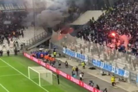 Μαρσέιγ - Γαλατάσαραϊ: Ξύλο μεταξύ οπαδών και τραυματισμός τριών αστυνομικών