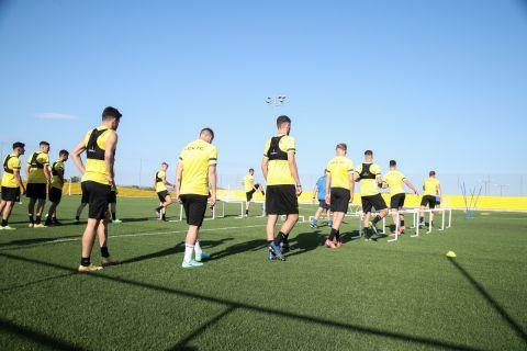 Από την πρώτη προπόνηση της ΑΕΚ για τη νέα σεζόν