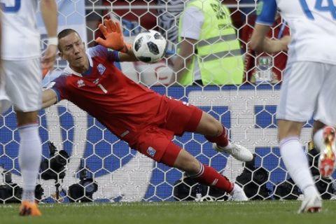 Ο τερματοφύλακας της Ισλανδίας ήξερε που θα στείλει την μπάλα ο Μέσι