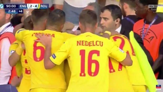 U21 Ρουμανία - Αγγλία 4-2: Έξι γκολ σε δεκαεπτά λεπτά